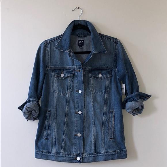 GAP Jackets & Blazers - NWT Gap Oversized Denim Jacket